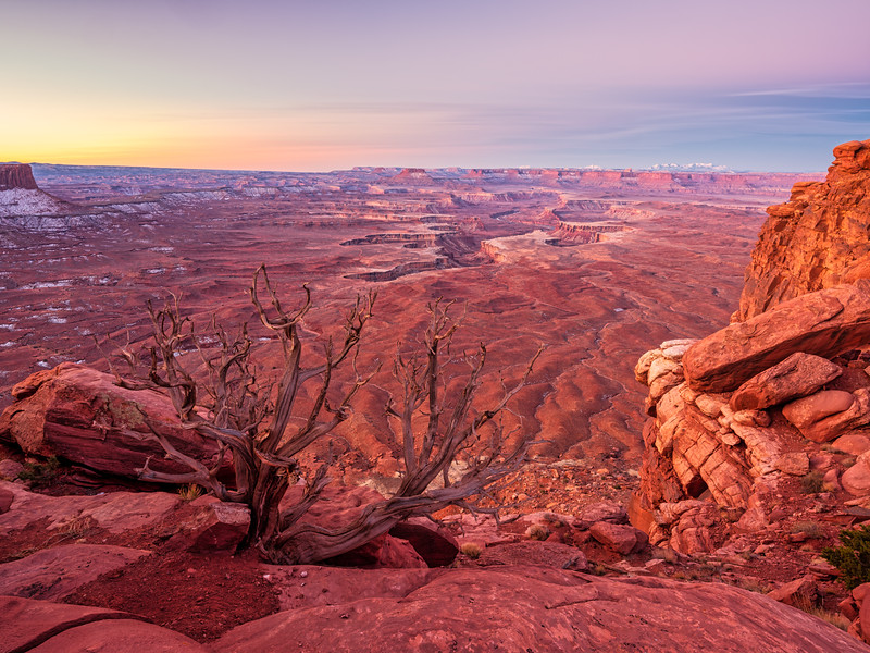 """Green River overlook,"", Canyonlands, Utah"