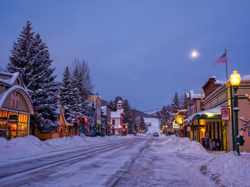 """Elk Street"", Crested Butte, Colorado"