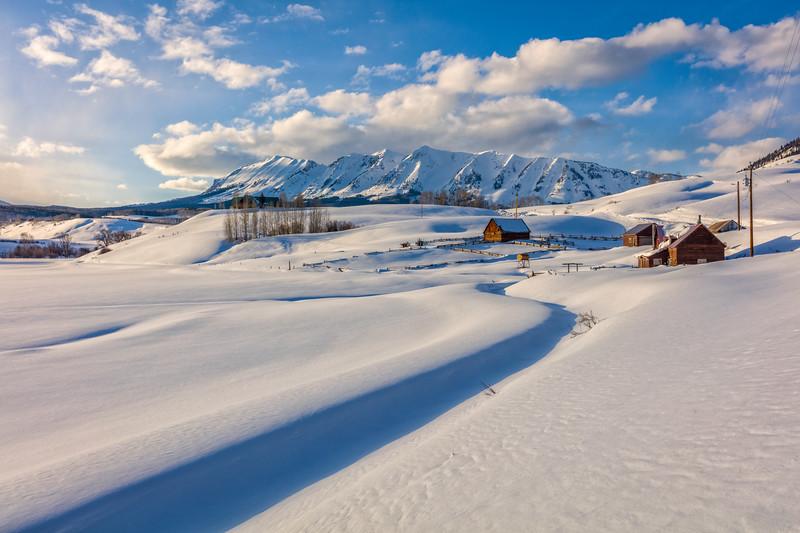 """""""Anthracite Range"""" Ohio Creek, Colorado"""