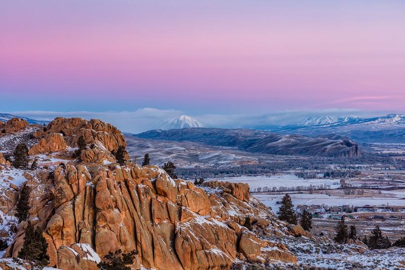 """""""Gunnison Sunrise"""" Gunnison, Colorado"""