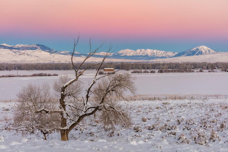 """Ohio Valley from County Road 10"" Gunnison, Colorado"