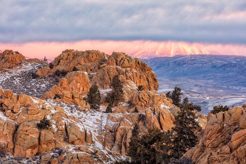 """""""Carbon Mountain & Clouds"""" Gunnison, Colorado"""