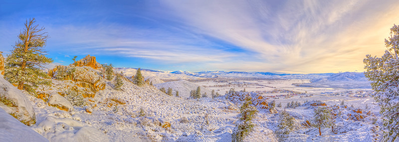 """Hartmans Snow"" Gunnison, Colorado"