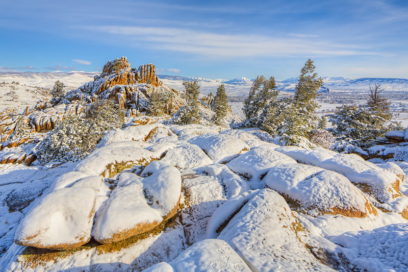"""""""Hartmans Snow"""" Gunnison, Colorado"""