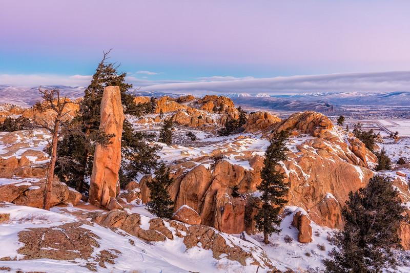 """""""Gunnison from Hartman Rocks"""" Gunnison, Colorado"""