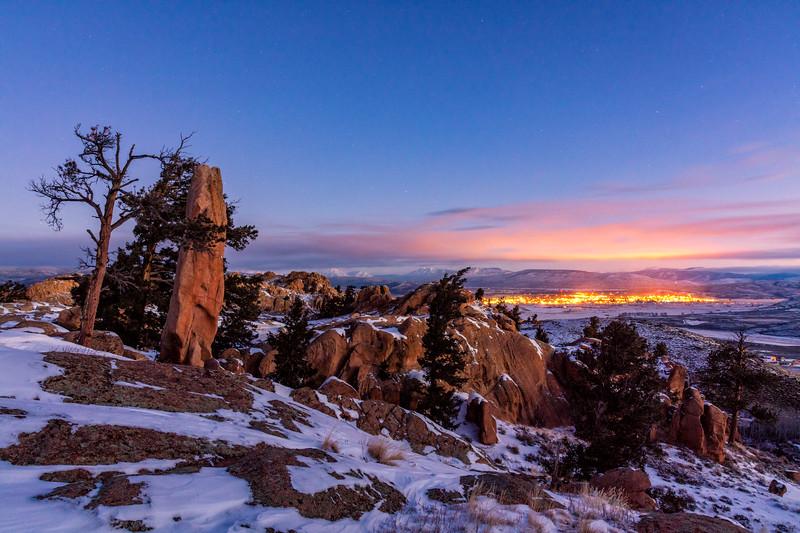 """""""Gunnison Rising"""" Gunnison, Colorado"""
