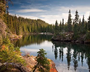 Tenas Lakes, Fall
