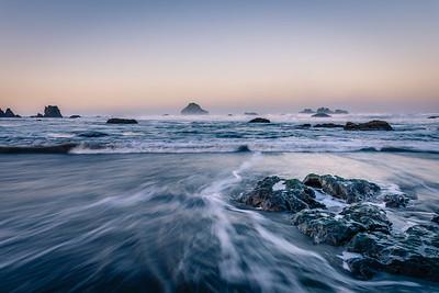 Ebb tide, Bandon, Oregon Coast