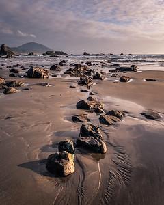 Rocky coast of Southern Oregon.