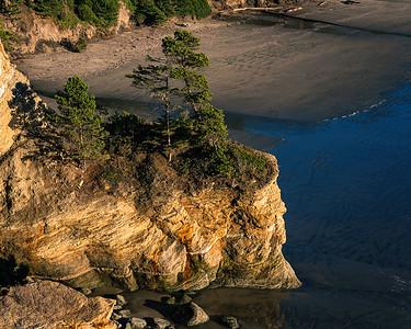 Late afternoon, Oregon Coast.
