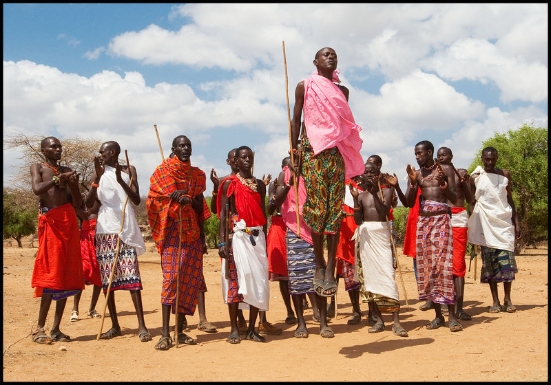 Samburu Dance, Kenya