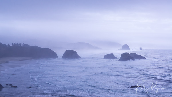 Overlooking Cannon Beach