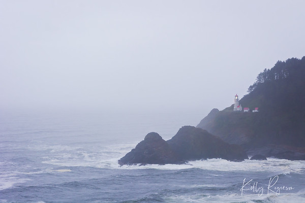 Foggy Day at Heceta Head Lighthouse