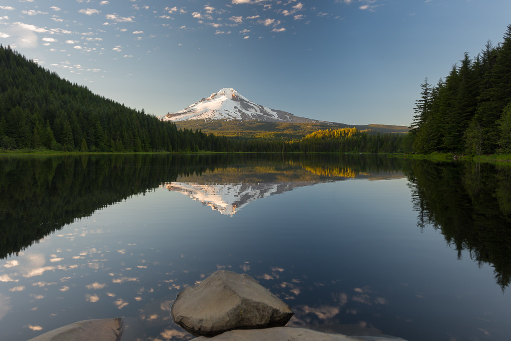Mt. Hood from Trillium Lake II