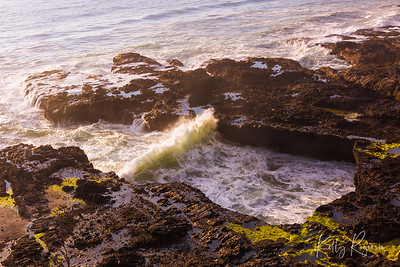 Cape Perpetua area along Oregon Coast