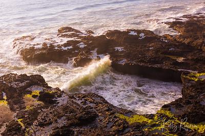 Cape Perpetua area along Oregon Coast