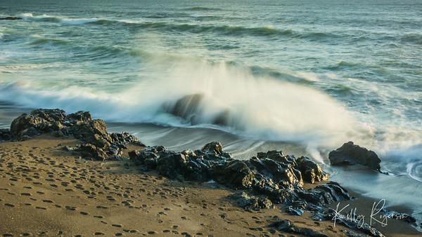 Crashing Waves ~ Yachats Oregon