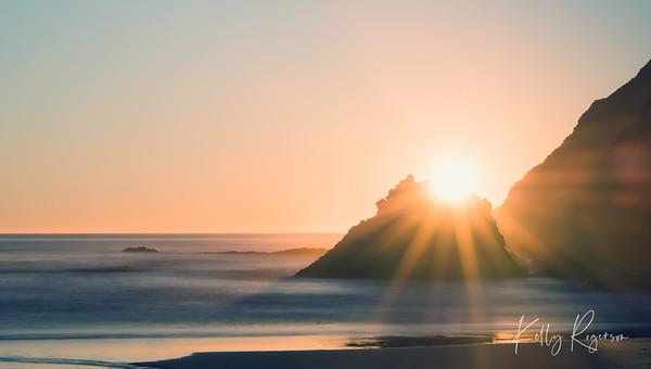 Indian Beach at Ecola State Park - Oregon Coast