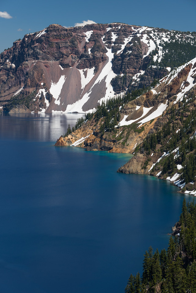 Crater Lake Spring melt