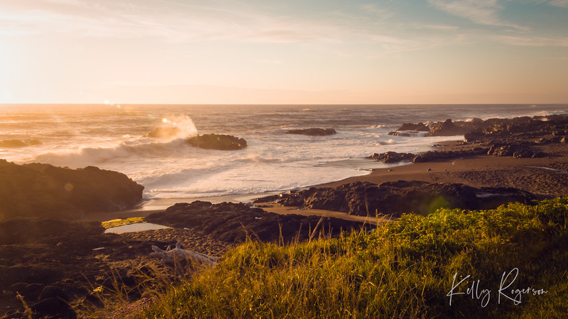This sunset in Yachats, Oregon was absolutely stunning. My recent trips to this same location have not produced nearly as gorgeous a sunset, so I often look back at this 2013 trip. Hoping to have another beautiful sunset trip to this location next year!