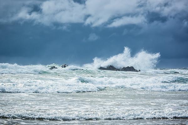 Crashing Waves ~ Cannon Beach