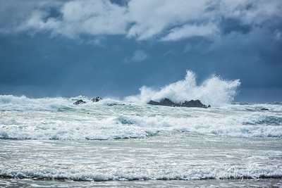 Crashing Waves ~ Cannon Beach
