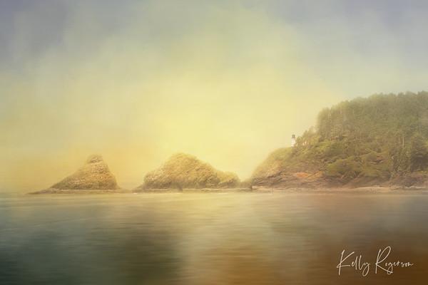 Life In Perfection - Heceta Head Lighthouse - Oregon Coast