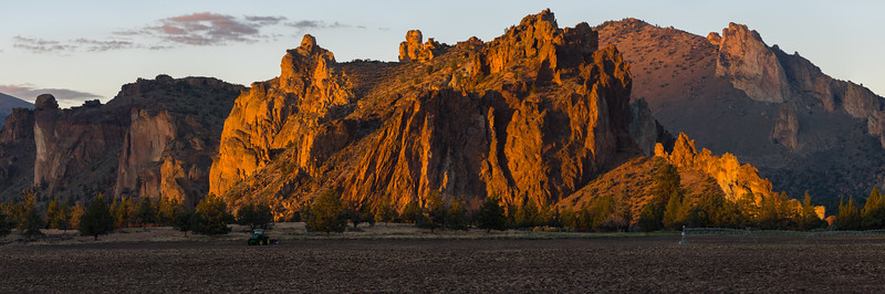 Smith Rock Sunset Pano