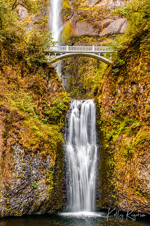 Multnomah Falls, Oregon, Historic Columbia River Gorge