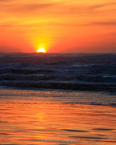 DF.620 - sunset, Seaside, OR.