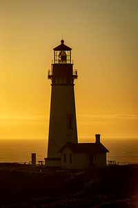 Yaquina Head Lighthouse, Newport, OR - -136