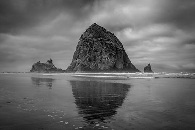 Haystack Rock at Cannon Beach, Or - -21-Edit
