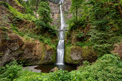 Multnomah Falls, Oregon - -23