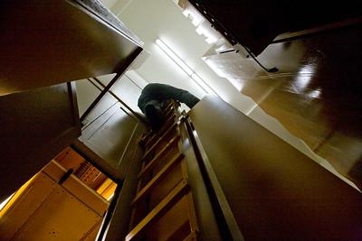 063 Duke Chapel - Aeolian Installation 4-3-08