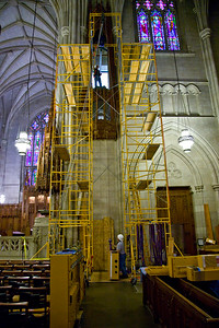 025 Duke Chapel - Aeolian Installation 4-3-08