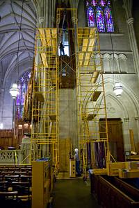 025 Duke Chapel - Aeolian Installation 4-3-08
