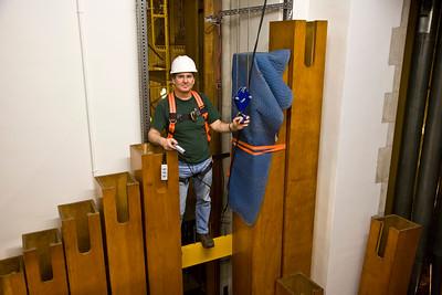 074 Duke Chapel - Aeolian Installation 4-3-08