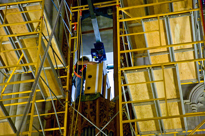 055 Duke Chapel - Aeolian Installation 4-3-08
