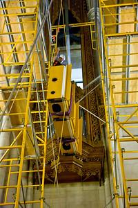 047 Duke Chapel - Aeolian Installation 4-3-08