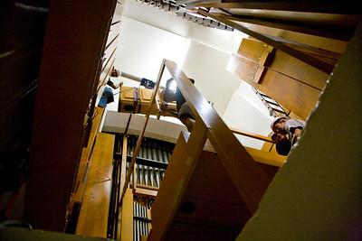 061 Duke Chapel - Aeolian Installation 4-3-08