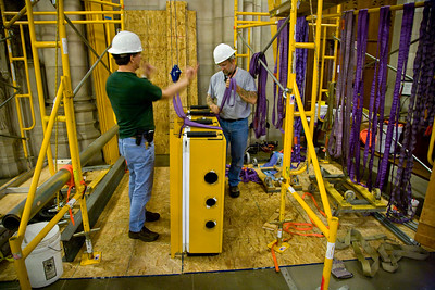 016 Duke Chapel - Aeolian Installation 4-3-08