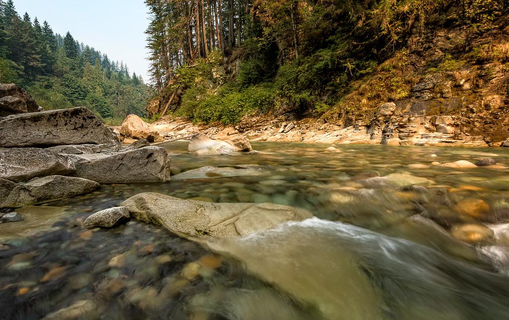 The Coquihalla River near Hope, BC.