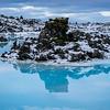 Blaue Lagune mit Thermalfeld