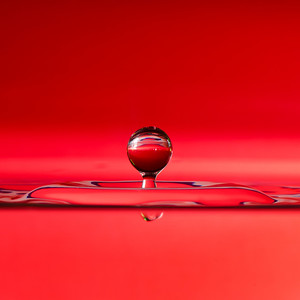 Splash of Red (square)