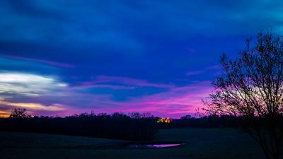 Gilmer Rd Sunset
