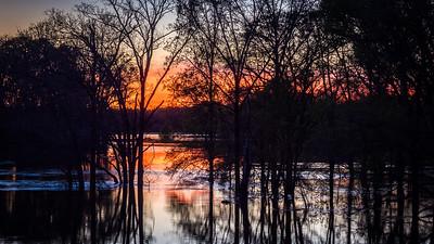 Sunset On the Sabine