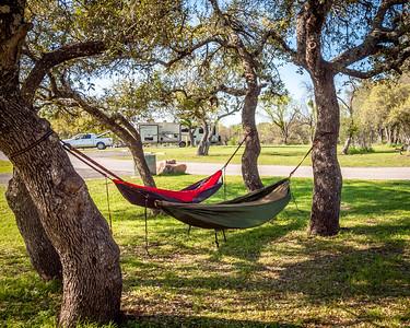 First Hammock Camping Trip