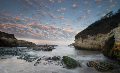 Dawn at Snooker's Cove in Montana de Oro State Park, near Los Osos. CA.