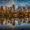 Sand Lake Reflection