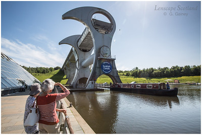 Falkirk Wheel - rotating boat lift (07)